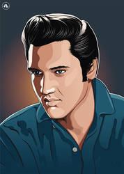 Elvis by Alphonse-art