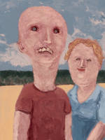 Jim (deceased) and Helen Reynolds - 1987 by TheDreadfulPencil
