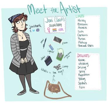 Meet the Artist: Jovi by jovishark