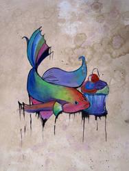 coffee fish by fatherislonley