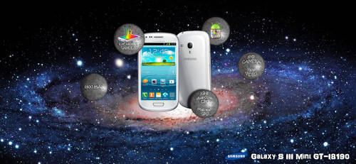 Samsung Galaxy S III mini - infographic by Mitsuoka123