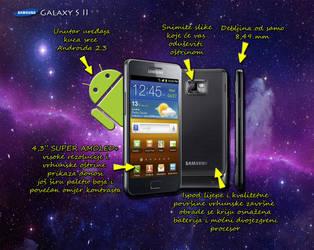 Samsung Galaxy S II GT-I9100 - Infographic by Mitsuoka123