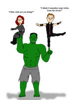 Quality Time with Hulk by LastChanceToBreathe