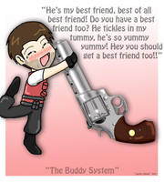 The Buddy System by Art-Munkee