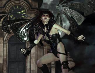 Future Past Gargoyle by skyewolf