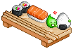 I love sushi by Neko-Slay