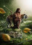 Barbarian Warrior by Xan-04