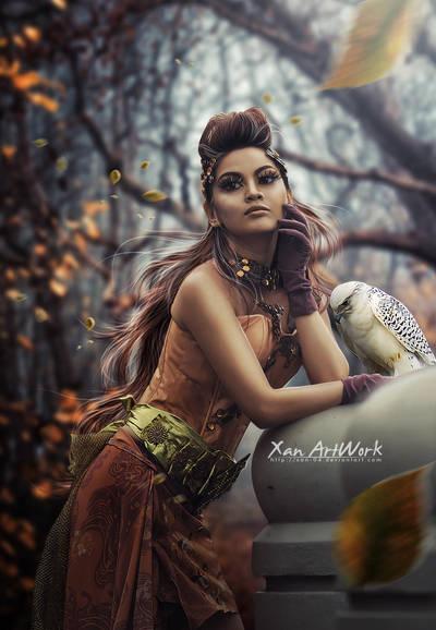 Zahra by Xan-04