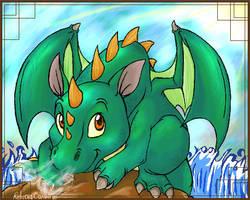 Baby Dragon by Nikori