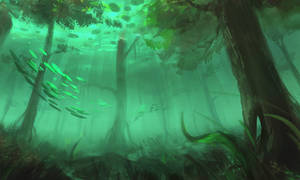Drowned Forest by RynkaWorks