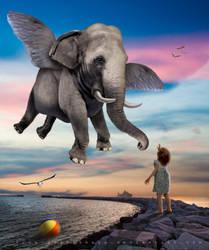 The Little Dreamer by Lora-Vysotskaya