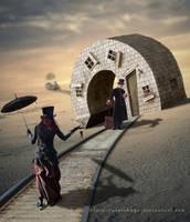 The Through Train by Lora-Vysotskaya