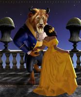 Beauty And The Beast by Lora-Vysotskaya