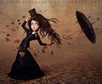 The Runaway Umbrella by Lora-Vysotskaya