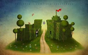 Welcome To Wonderland by Lora-Vysotskaya