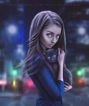 New Friend by Lora-Vysotskaya