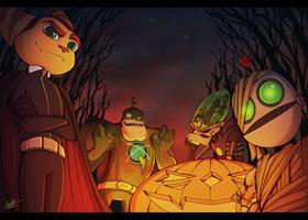 Happy Halloween! by BlueStripedRenulian