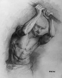 Man figure study by AATheOne