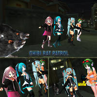 MMD Rat Patrol by Trackdancer
