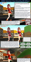 MMD Tutorial PostOverRay Controllers by Trackdancer