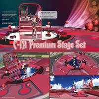 MMD C-IA Premium Stage Set by Trackdancer