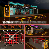 MMD VOCALOID SYSTEMS MOBILE STAGE MODULE by Trackdancer