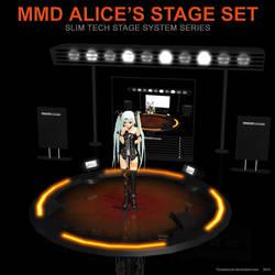 MMD Alice's Stage Set by Trackdancer
