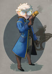 Critical Role: Percy by Aelwen