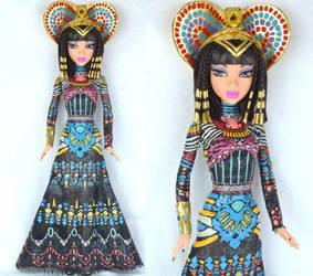 Custom Katy Perry Dark Horse Doll by PinkUnicornPrincess