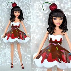 Custom Katy Perry Sundae doll by PinkUnicornPrincess