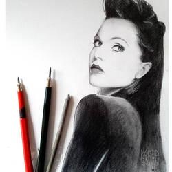 Lana Parrilla (evil queen) by MLS-art