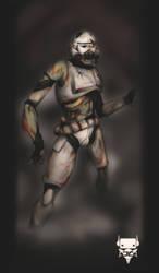 Zombietrooper by juanFoo