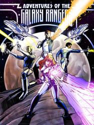 Galaxy Rangers Poster - Final by BlotchComics