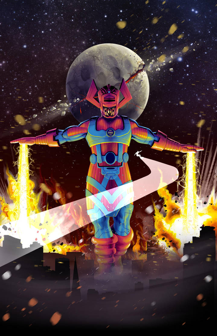 Galactus! update to piece posted on Sept 8, 2015 by BlotchComics