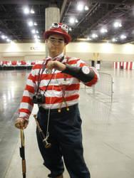 Steampunk Waldo by hachi24