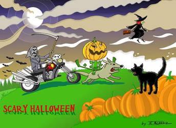 Scary Halloween by JCalcaraz