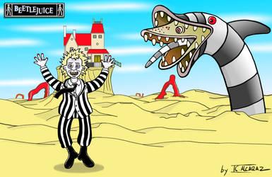 Universe Tim Burton. Beetlejuice by JCalcaraz