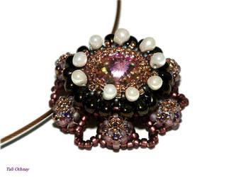Little flower pendant by craftal
