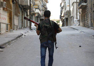 Free Syrian Army fighter by promise2smile4ever