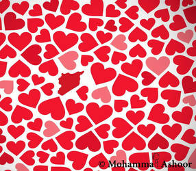 Love You Syria , Valentine's day by promise2smile4ever