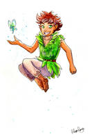 Peter Pan by AlexisRoyce