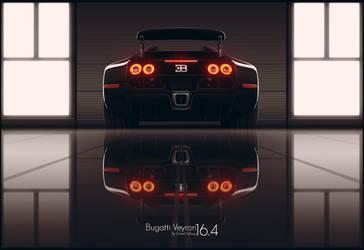 Bugatti Veyron 16.4 by DanielTalhaug