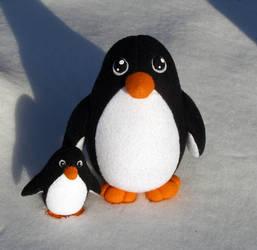 Penguin Plush - Pick me up by demiveemon