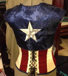 WIP Steampunk Captain America by BluRockAngelCostumes