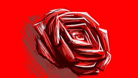 Warm Rose by kike3k1k