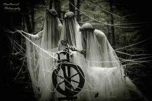 The three Norns by LucreciaMortishia