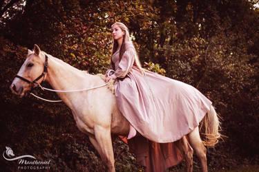 Epona- Horse Goddess by LucreciaMortishia