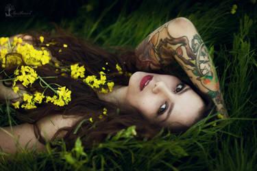 Natural beauty Dalma by LucreciaMortishia
