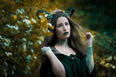 Forest Dryad by LucreciaMortishia