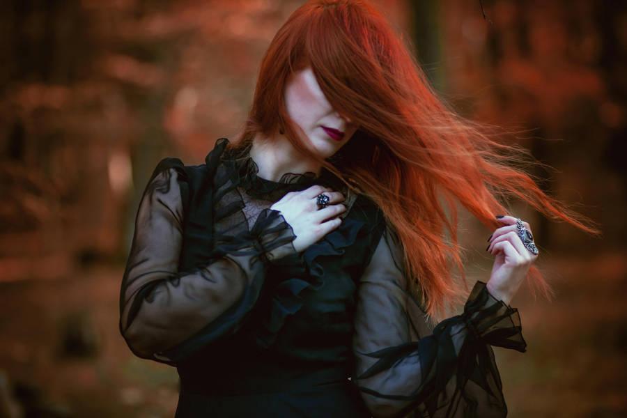 November Witch by LucreciaMortishia